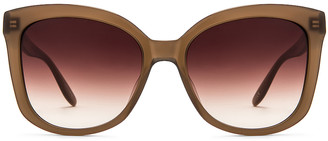 Barton Perreira Shangri-La Sunglasses in Mocha & Smokey Topaz | FWRD