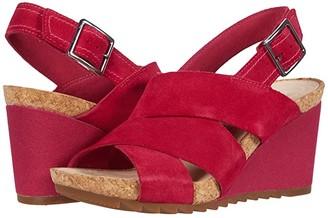Clarks Flex Sand (Light Tan Leather) Women's Shoes