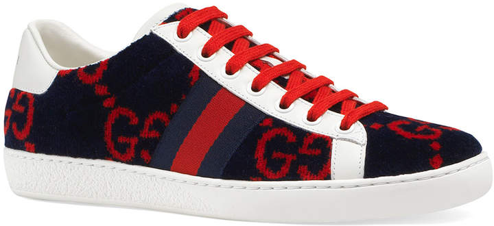 66e6d53897 New Ace GG Terry Sneakers