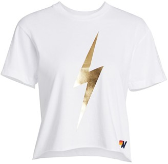 Aviator Nation Lightening Bolt Boyfriend T-Shirt