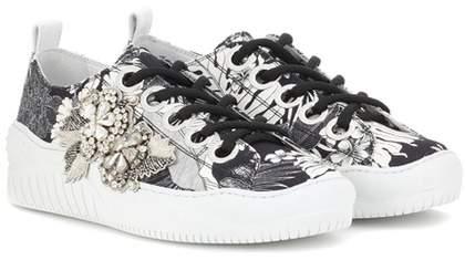 N°21 Embellished sneakers