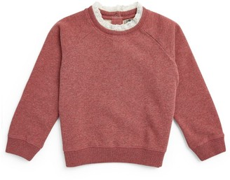 Bonton Lace-Trim Sweatshirt (4-12 Years)