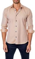 Jared Lang Long Sleeve Printed Semi-Fitted Shirt