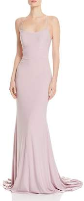 Couture Faviana Back Lace-Up Gown