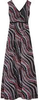 Erdem Lucetta Pleated Fil Coupé Gown - UK10