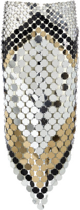 Paco Rabanne Two-Tone Pastilles Skirt