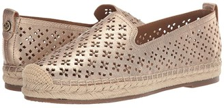 Patricia Nash Elena (Pale Gold) Women's Flat Shoes