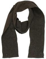 Balenciaga Wool-Blend Distressed Scarf