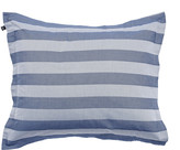 Gant Rig Stripe Pillowcase - Mid Blue - 50x75cm