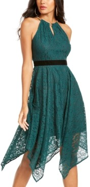 Thalia Sodi Chain-Neck Lace Dress, Created for Macy's