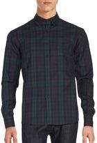 Raleigh Denim Cotton Plaid Shirt