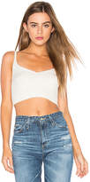 Free People Corset Detail Swit Cami in Ivory