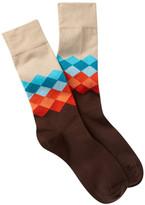 Peter Millar Argyle Crew Socks