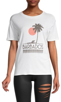 David Lerner Barbados Graphic Boyfriend T-Shirt