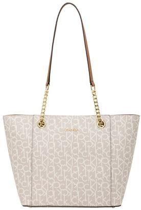 Calvin Klein H8AAJ8DS_AIL Hudson Double Handle Tote Bag
