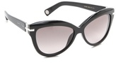Marc Jacobs Exaggerated Cat Eye Sunglasses