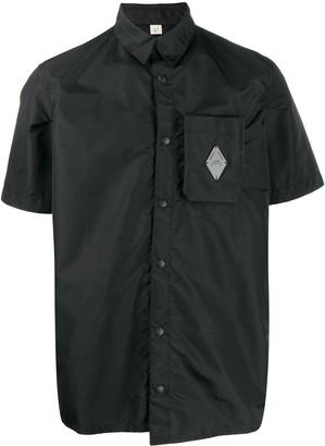 A-Cold-Wall* Asymmetric Logo Plaque Shirt
