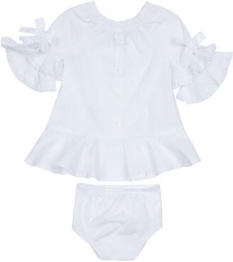 HABITUAL KIDS Idalia Puff Sleeve Dress