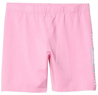 Vans Kids Funnier Times Bike Shorts (Big Kids) (Fuchsia Pink) Girl's Shorts