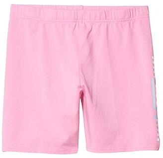 Vans Kids Funnier Times Bike Shorts (Big Kids) (Fuchsia Pink) Girl's Shorts