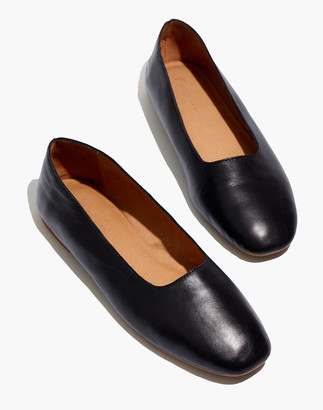 Madewell The Cory Flat in Leather