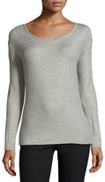 Neiman Marcus Majestic Paris for Extrafine Long-Sleeve Top