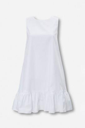 Forever 21 Flounce-Hem Swing Dress
