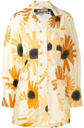 Jacquemus floral La Chemise Roman shirt