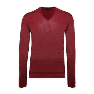 Gucci Red Silk Knitwear & Sweatshirts