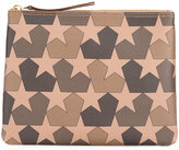 Ports 1961 star print clutch - men - Leather - One Size