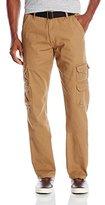 Wrangler Authentics Men's Premium Relaxed Straight Twill Cargo Pant