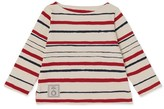 Petit Bateau x Inès de la Fressange girls nautical shirt