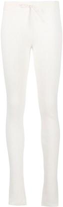 Reebok x Victoria Beckham VB ribbed mid-rise leggings