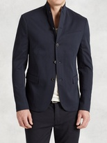 John Varvatos Cotton Knit Jacket