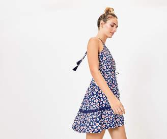 Oasis Leopard Halter Dress