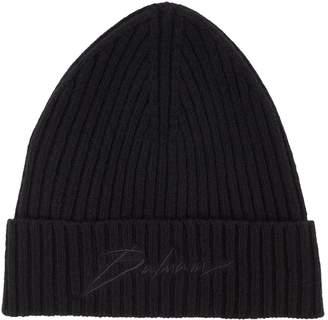 Balmain Signature Beanie Hat