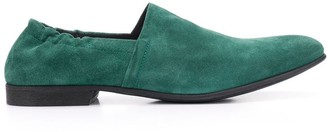 Haider Ackermann Suede Slip-On Loafers