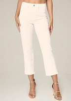 Bebe Clean High Rise Crop Jeans