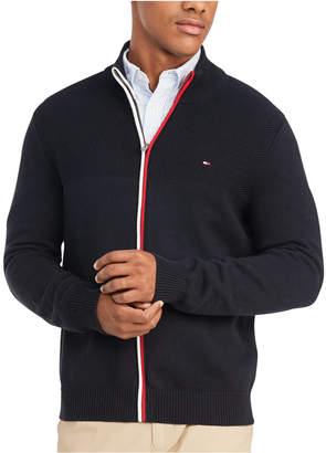 Tommy Hilfiger Men Rhodes Regular-Fit Full-Zip Sweater