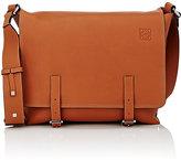 Loewe Men's Small Messenger Bag-TAN