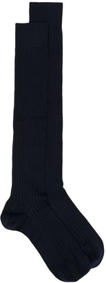 Marcoliani Milano Ribbed Long Socks