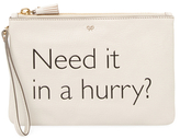 Anya Hindmarch Need It In A Hurry Leather Pouch