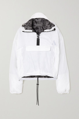 AARMY Smash Hooded Shell Jacket - White