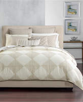 Hotel Collection Cotton Diamond Embroidered Full/Queen Duvet Cover, Created for Macy's Bedding