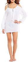 Gianni Bini Cold Shoulder Tunic Cover-Up