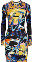 Christopher Kane Printed stretch-jersey dress