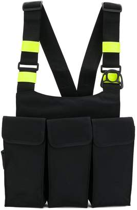 Neighborhood wearable chest bag