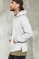 Forever 21 FOREVER 21+ Marled Knit Hoodie