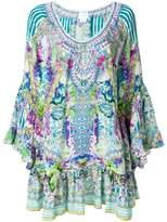 Camilla floral flared dress