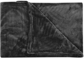 M&Co Large fleece throw